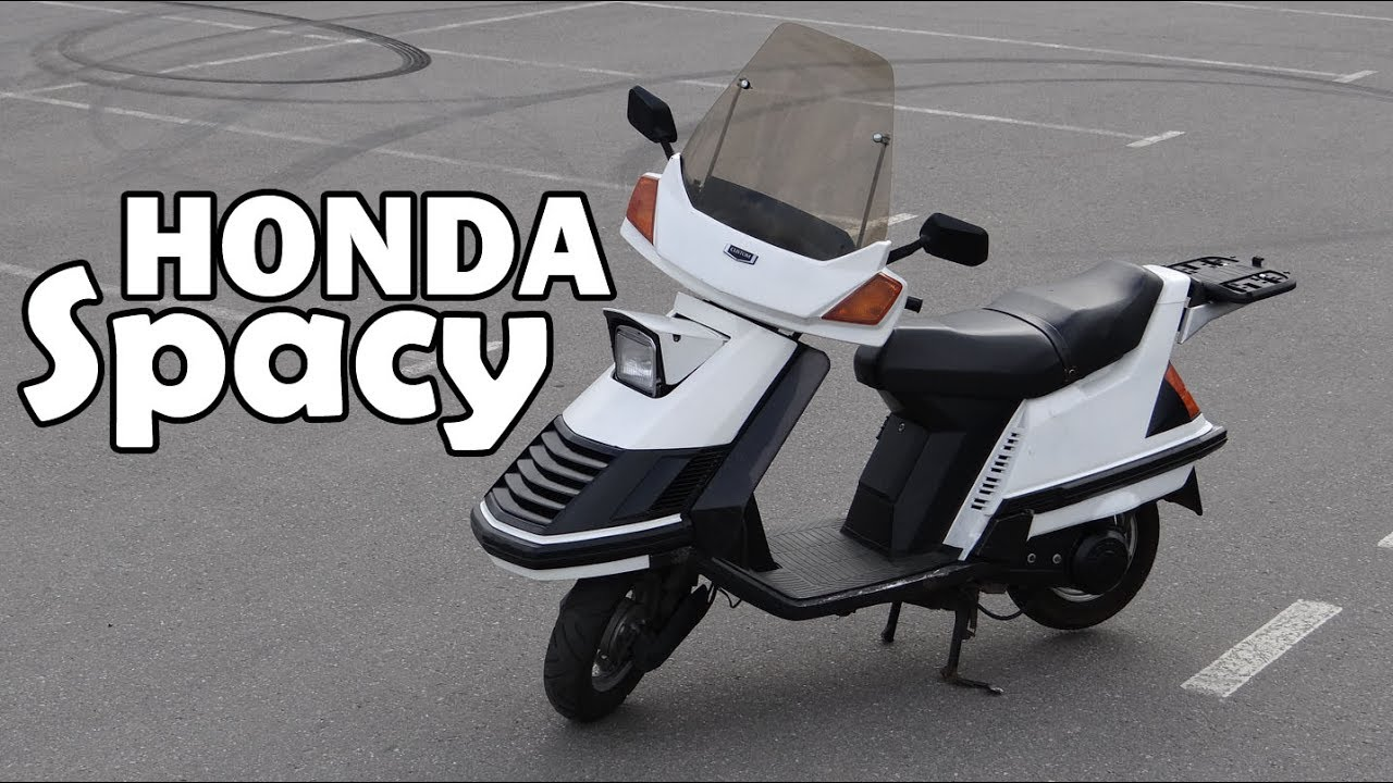Honda Spacy 1984-обзор и тест-драйв крайне необычного ретро скутера