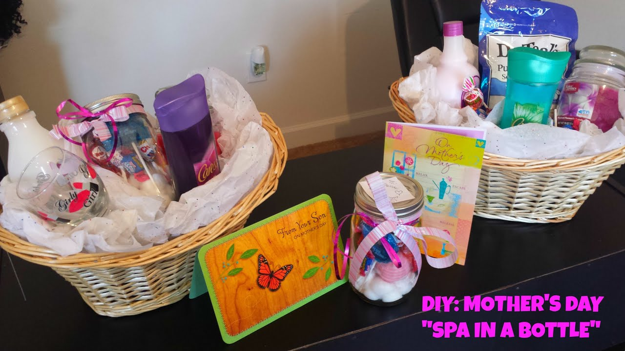 diy mother s day gift ideas last minute spa in a bottle youtube