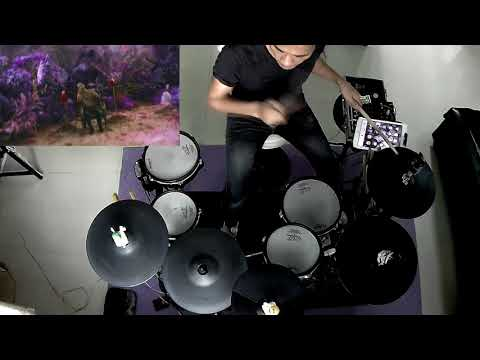 Calvin Harris - Feels ft. Pharrel Williams , KatyPerry , Big Sean (Electric Drum cover by Neung)