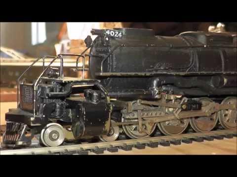 Brass HO Locomotive Tetsudo HandMade Big Boy Rare Union Pacific 4-8-8-4 UP Japan