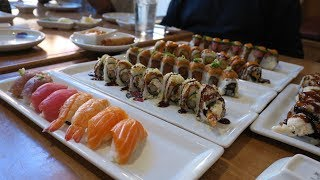 AYCE Sushi Showcase - RB Sushi - Hillcrest, California