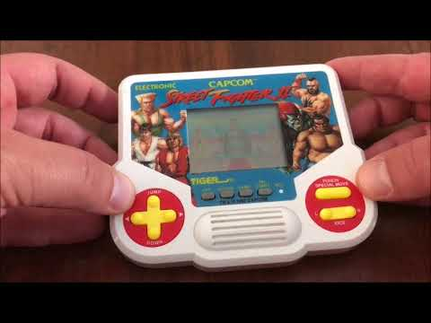 Street Fighter 2 Tiger Electronic Handheld Game Review