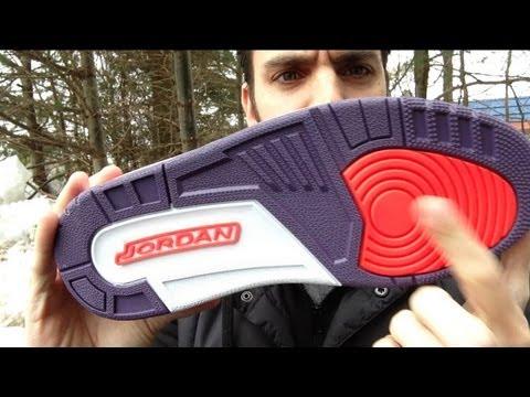 Air Jordan Retro 3 Crimson Review HD