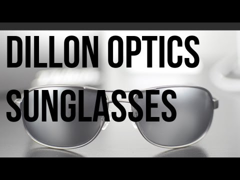 Review: Dillon Optics Sunglasses