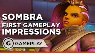 Overwatch Sombra Hands On Gameplay Impressions | BlizzCon 2016