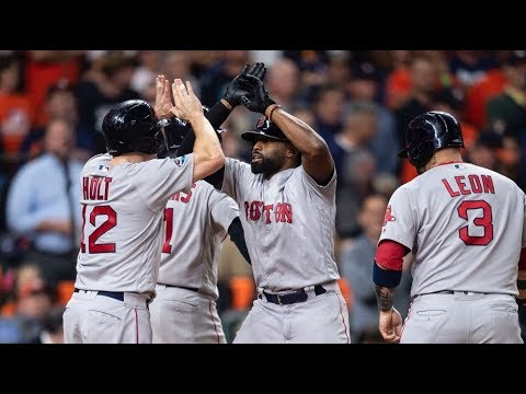 Red Sox vs Astros | ALCS Highlights Game 3 ᴴᴰ