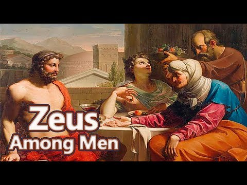 Zeus and the Myth of Hospitality (Philemon and Baucis) Greek Mythology Ep. See U in History