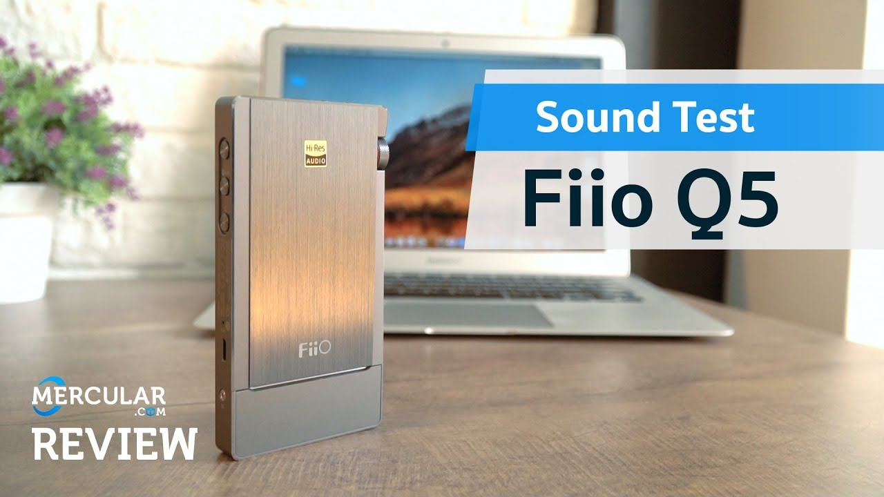 Fiio Q5 Wireless Dac-Amp - Sound Test
