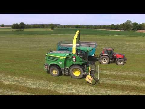 New JOHN DEERE 8600 / GRASS SILAGE  {Drone / GoPro} SARL MTPA