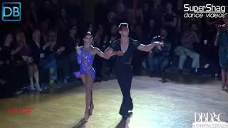 Part 3 Approach the Bar with Dancebeat! NYDF 2018 Pro Latin!Artur Tarnavskyy and Anastasiya Danilova