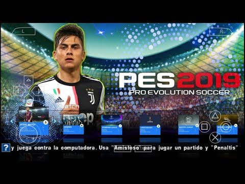 Game Android Offline PES 2019 LITE 250 MB UP 2020 (PPSSPP) Link + Cara Install - 동영상