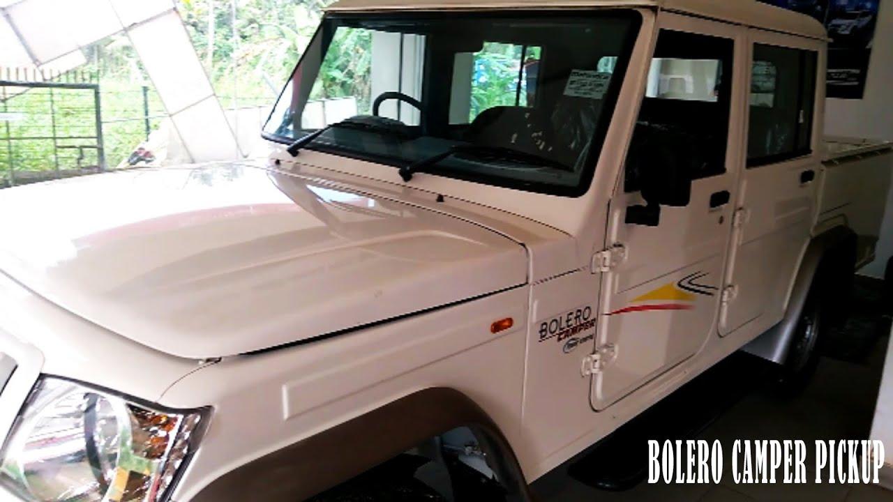 Mahindra Bolero Camper 2018 Pickup Price 6 8 Lakhs Mileage 14kmpl
