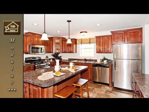 Cambridge Modular Ranch Home - Cedardelle Model: HX122A