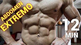 EJERCICIOS PARA EL ABDOMEN I Rutina de abdominales 12 minutos I Ismael Martinez