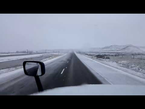 BigRigTravels LIVE! Miles City to Fallon, Montana Interstate 94 East-April 13, 2018