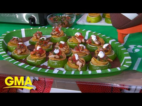 'MVP Your Meal' With Small Bites For The Next Tailgate L GMA