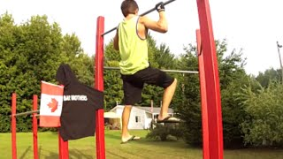 Bar Brothers 14 year old street-workout