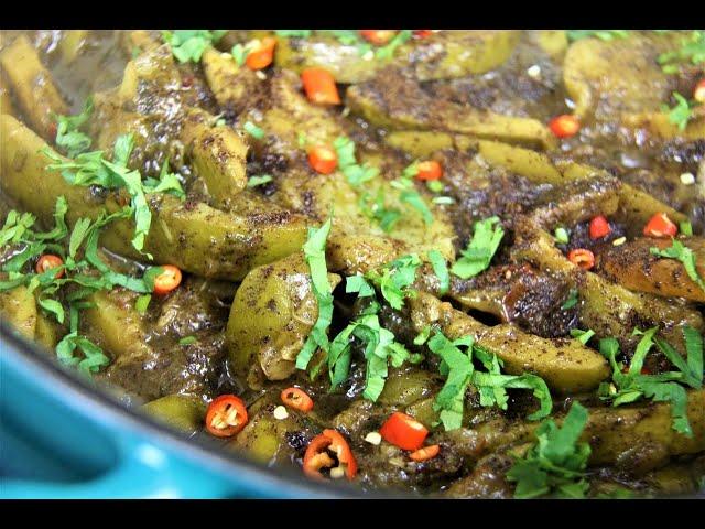 Mango Talkari (Masala Mango #tastytuesdays | CaribbeanPot.com