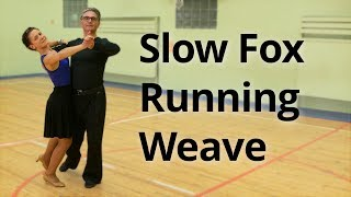 Slow Foxtrot Intermediate Routine with Running Weave from PP