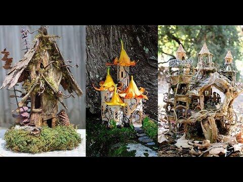 Great Best Fairy House Ideas 2018 || Garden Decorating Ideas || DIY U0026 Crafts Ideas