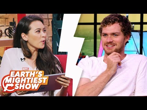 Jessica Henwick and Finn Jones are #Goals and more | Earth's Mightiest Show