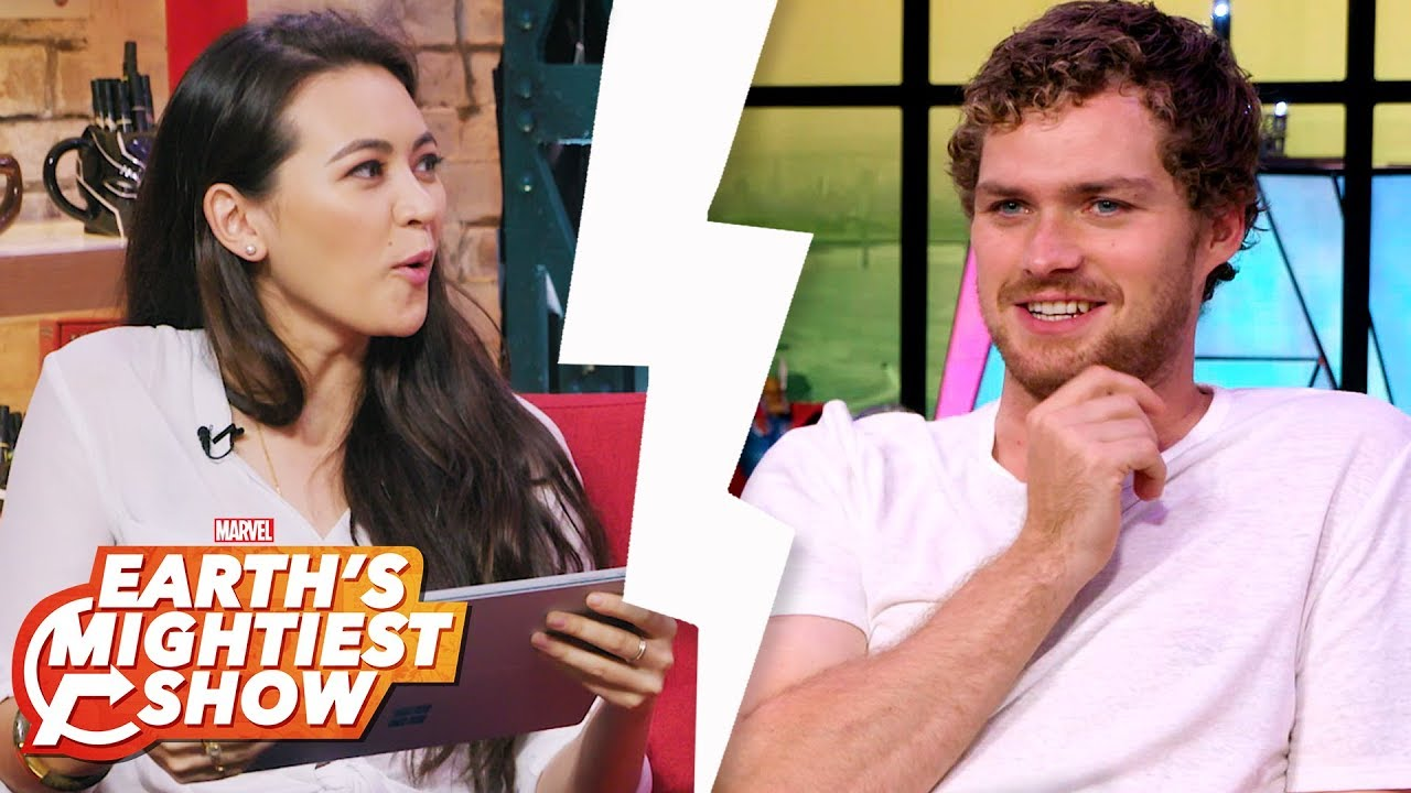 Download Jessica Henwick and Finn Jones are #Goals and more | Earth's Mightiest Show