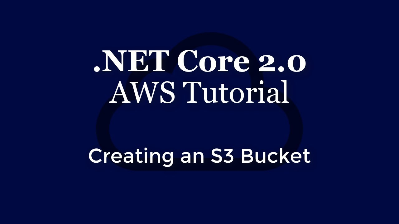 Amazon S3 with ASP NET Core 2 0 - Xero Developer