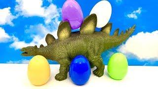 Dinosaurus and Surprise Eggs ☺️ Dinossauro eu huevo sorpresa  Dinozaur i Jajko niespodzianka