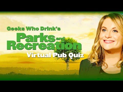 Parks and Recreation Virtual Pub Quiz   Geeks Who Drink Trivia Night
