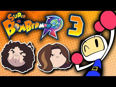 Super Bomberman R: Proof of Friendship - PART 3 - Game Grumps VS |