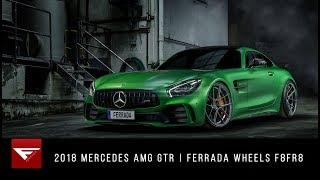 2018 Mercedes AMG GTR | Green with Envy | Ferrada Wheels F8FR8