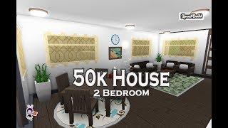 ROBLOX │Bloxburg - [SpeedBuild] 50k 2Bedroom House