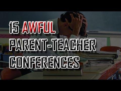 15 AWFUL Parent-Teacher Conferences [ASKREDDIT]