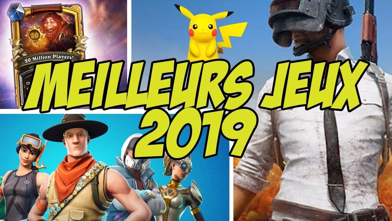 TOP 10 des MEILLEURS JEUX MOBILES pour 2019 !  #Smartphone #Android