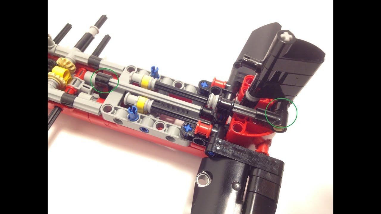 Moc Lego Technic Ircraft Fighter Nzf 1 Instructions Moc Youtube