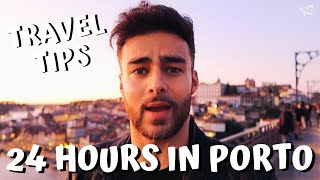 24 HOURS IN PORTO   20 Things You Must Do!   Porto Travel Guide (Vlog)