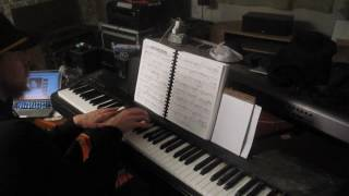 Ann Peebles I Cant Stand the Rain Piano Cover