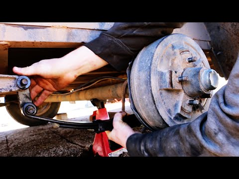 How to Replace/Install a Trailer Leaf Spring