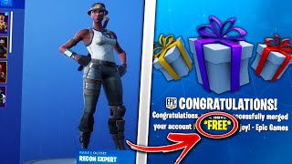 How to Merge RECON EXPERT to Battle Royale! *FREE*