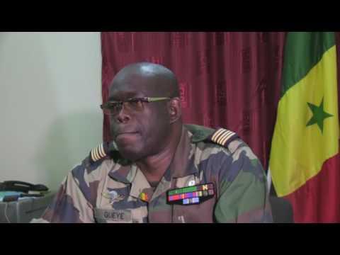 Le Lieutenant Colonel parle de la zone militaire 7 (30 mars 2017)