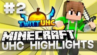 Minecraft UHC Highlights: Episode 2 - Cave Battle