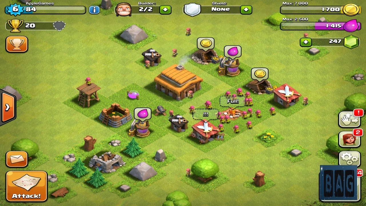 Clash of Clans Level 6 (HD GamePlay) - YouTube