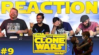 Star Wars: The Clone Wars #9 REACTION!!