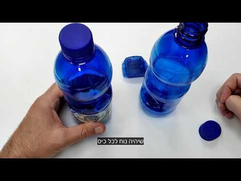 מצלמה נסתרת בבקבוק מים