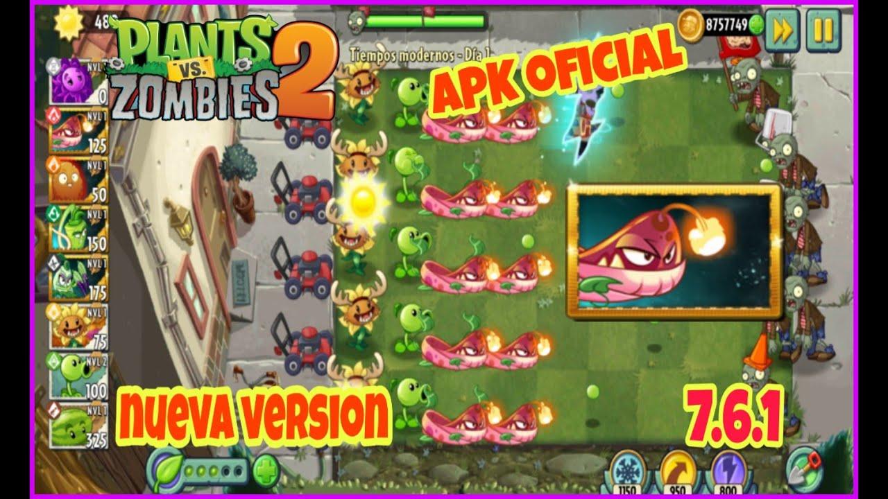 Plants Vs Zombies 2 Version 7 6 1 Apk Oficial Datos Obb Nueva