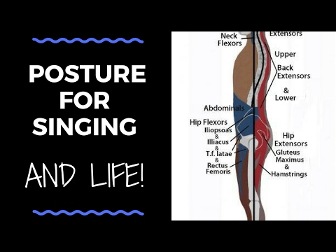 singing with corrrect posture