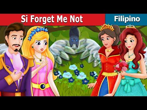 Si Forget Me Not | Kwentong Pambata | Filipino Fairy Tales