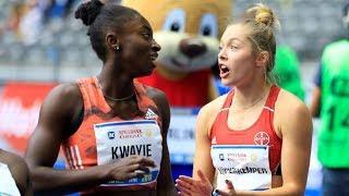 Women's 100m at ISTAF Berlin 2018