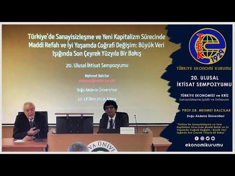 TEK : Prof.Dr. Mehmet Balcılar // Büyük Veri Işığında Son Çeyrek Yüzyıla Bir Bakış