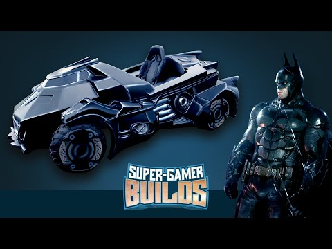 Check Out This Fully Functional Batman: Arkham Knight Batmobile Go-Kart